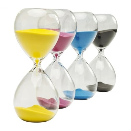 Hourglass Timer 30Min Assorted