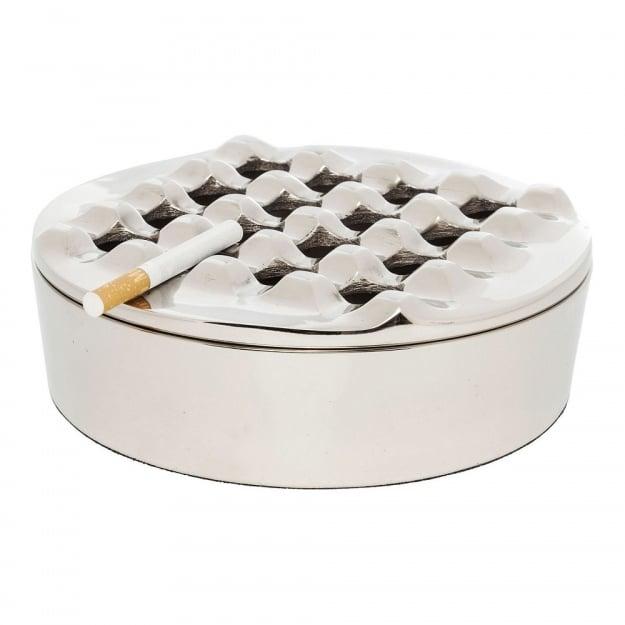 Пепельница Soho Round Silver