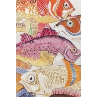 Picture Touched Fish Meeting One 100x70cm