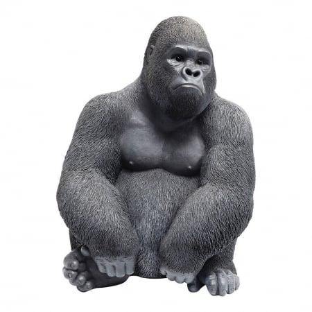 Deco Figurine Monkey Gorilla Side Medi