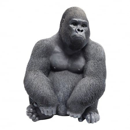 Deco Figurine Monkey Gorilla Side Medi
