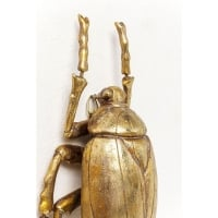 Настенный декор Plant Beetle Gold