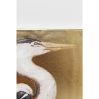 Picture Touched Heron Right 70x50cm
