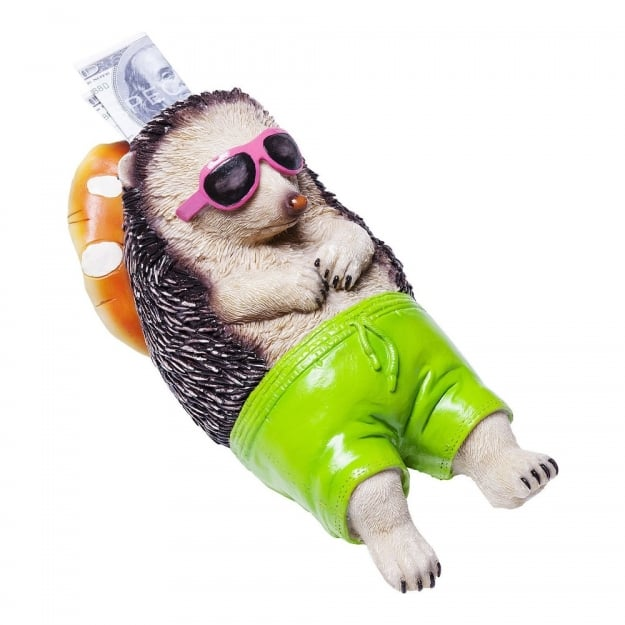 Money Box Chillax Hedgehog