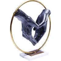 Декоративная фигура Elements Heart Hand