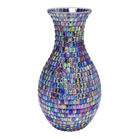 Vase Rainbow Diamonds 34cm