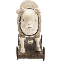 Статуэтка  Pig On Wheels