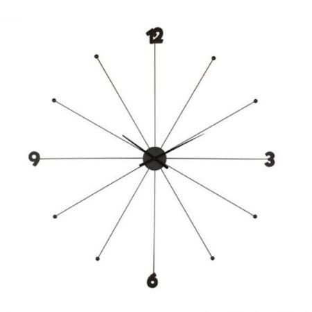 Wall Clock Like Umbrella Black