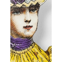 Настенный декор Lady Yellow