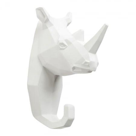 Wall Hook Rhino White