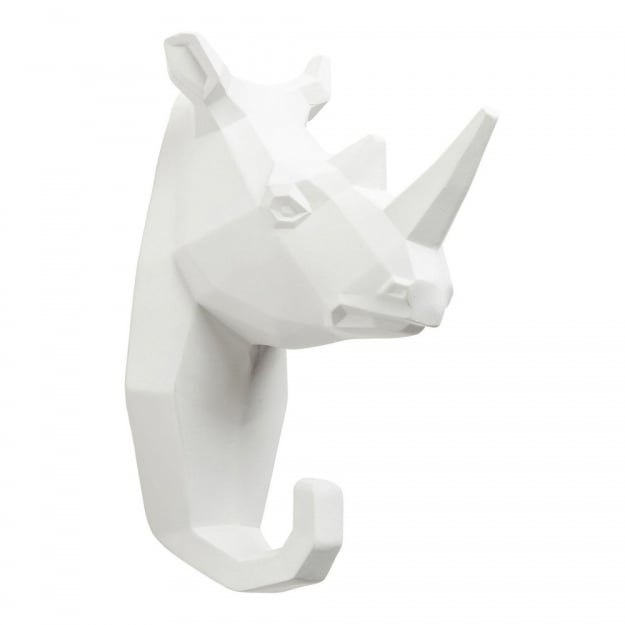 Wall Hook Rhino White