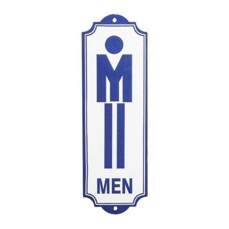 Wall Deco Sign Toilet Men