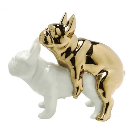 Deco Figurine Love Dogs