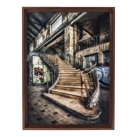 Picture Frame Old Staircase 80x60cm