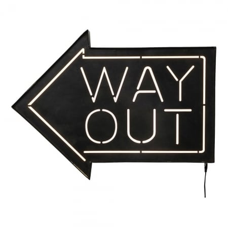 Wall Light Way Out LED