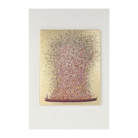 Картина Touched Flower Boat Gold Pink 100x80cm