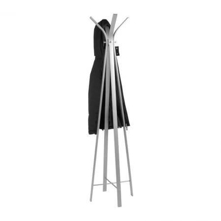 Coat Rack Libra aluminium coloured