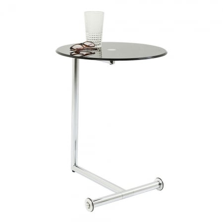 Side Table Easy Living Black Ø46cm