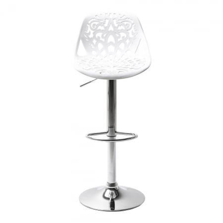 Bar Stool Ornament White