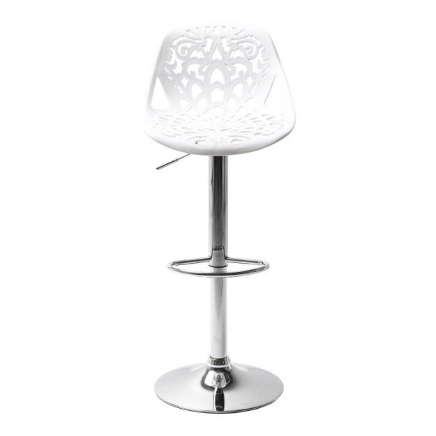 Барный стул Ornament White