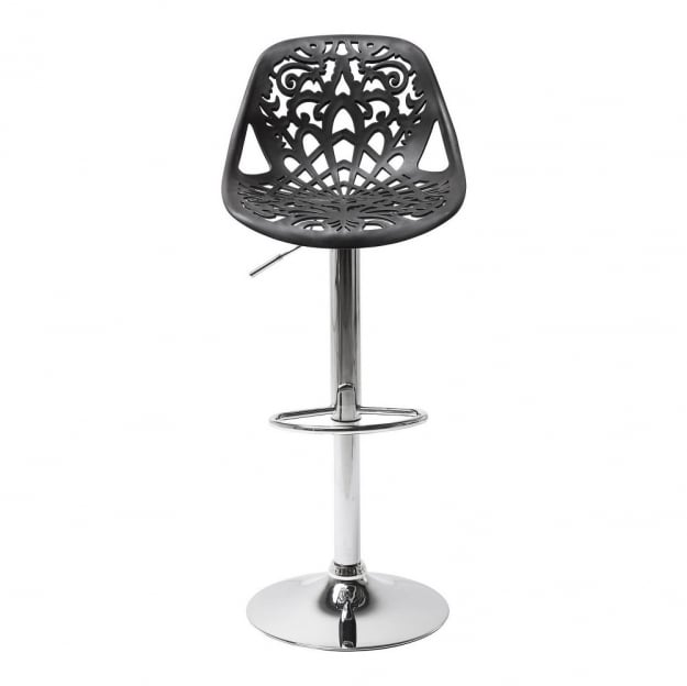 Bar Stool Ornament Black