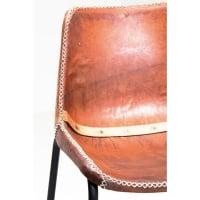 Стул Vintage Brown Leather