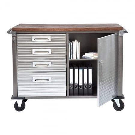 Dresser Efficiency Wood 1 Door 4 Drawers