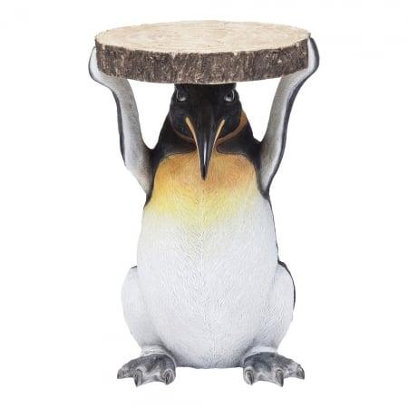 Side Table Animal Mr. Penguin Ø33cm
