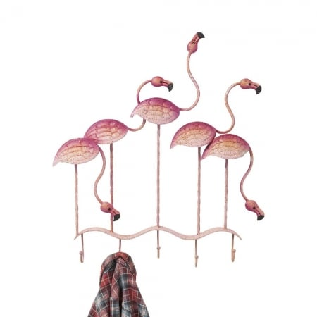 Coat Rack Flamingo Party