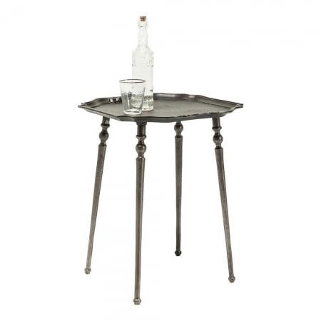 Side Table Endris Dark Silver