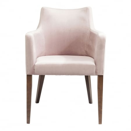 Chair with Armrest Mode Velvet Rose