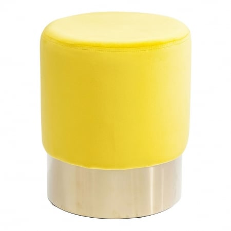 Stool Cherry Yellow Brass Ø35cm