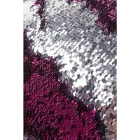 Пуф Disco Queen Pink-Silver 45x45cm
