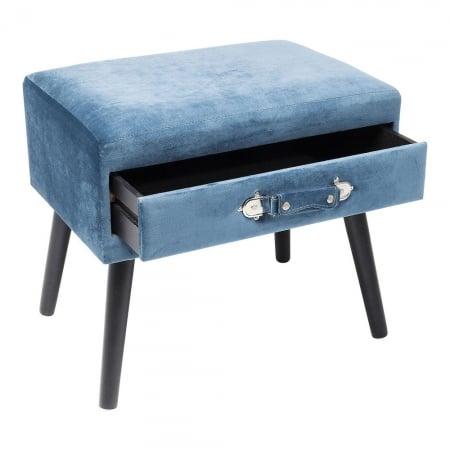 Stool Drawer Blue