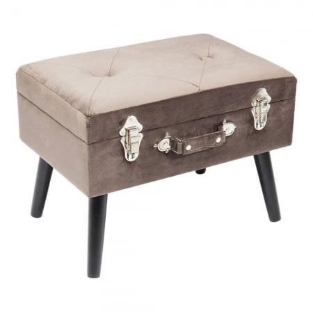 Stool Suitcase Grey