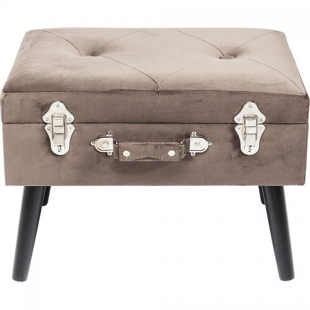 Пуф Suitcase Grey
