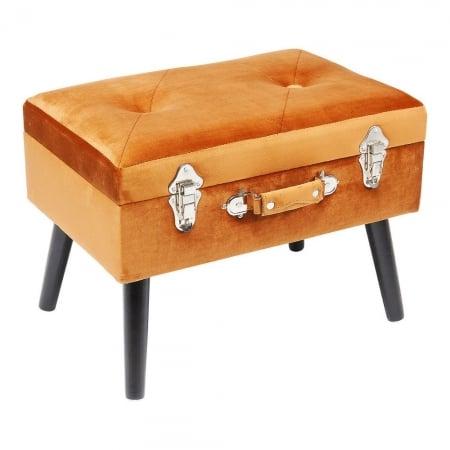 Stool Suitcase Orange