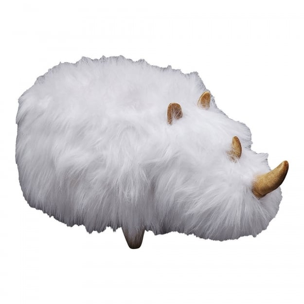 Пуф Rhino Fur White