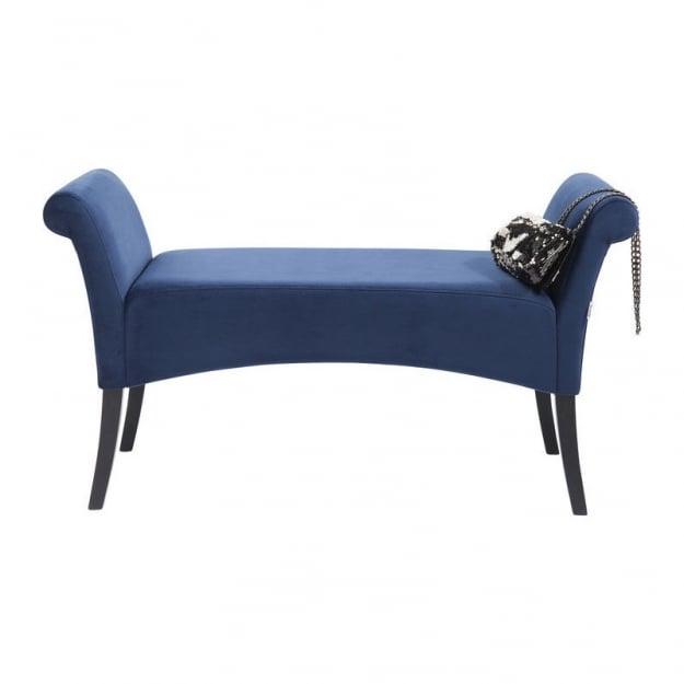 Банкетка Motley Velvet Blue
