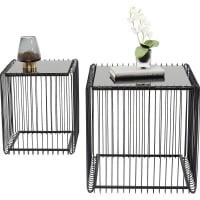 Стол Wire Square Black (2/Set)