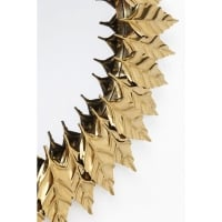 Зеркало Leaves Gold Ø76cm