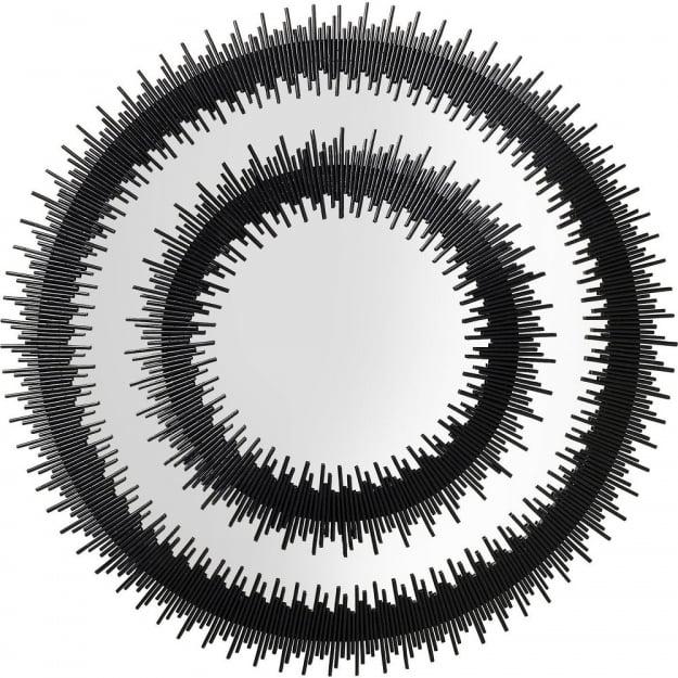 Зеркало Icario Duo Black Ø132cm