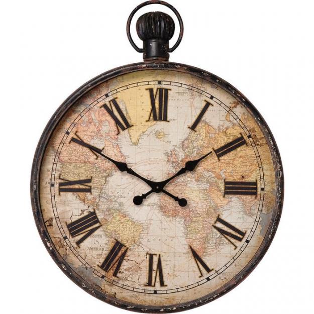 Часы настенные European Map 96cm