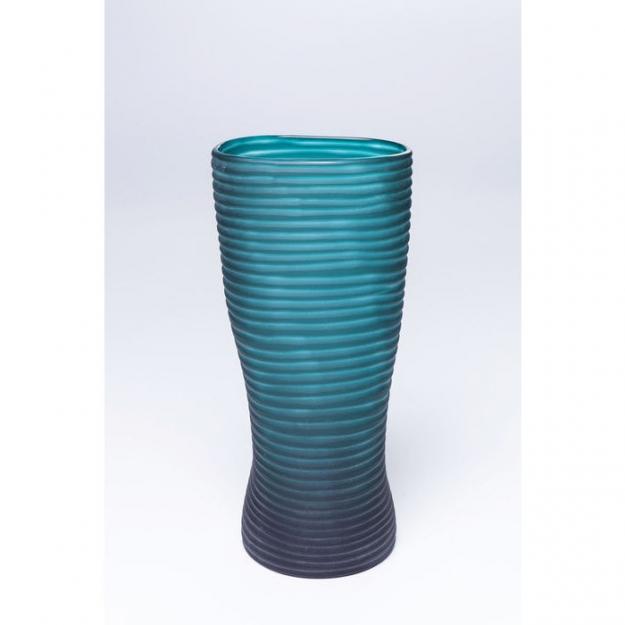 Ваза Swirl Turquoise 31cm
