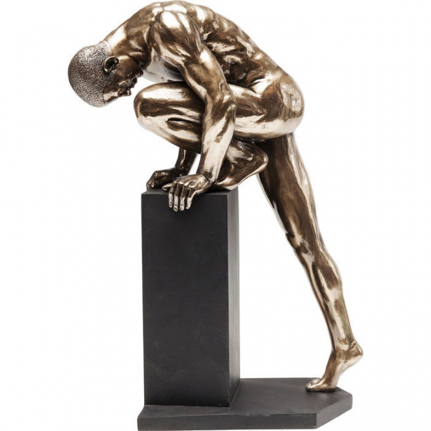 Статуэтка Nude Man Stand Bronze 35cm