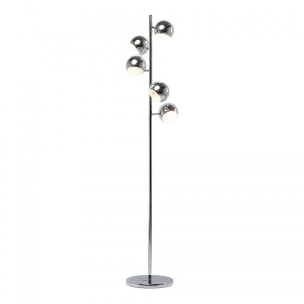 Floor Lamp Calotta Chrome 5-lite
