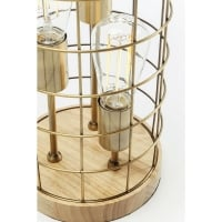 Table Lamp Cage Tre Wood