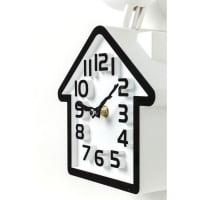 Часы настенные Bird White