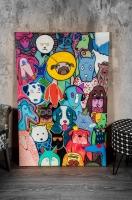 """Картина """"Собаки"""" 120Х80"""