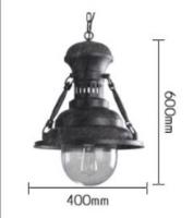 Светильник потолочный Giant d-40 h-60см